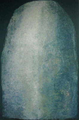 Naked stone - 2021 - 120x180cm - oil on canvas