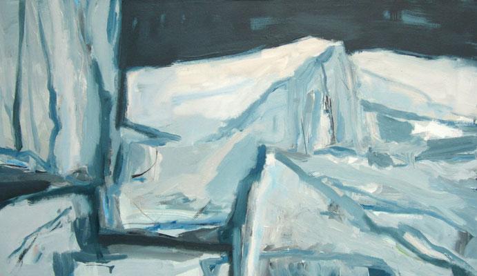 Stenen - 2009 - 70 x 120cm - oil on canvas