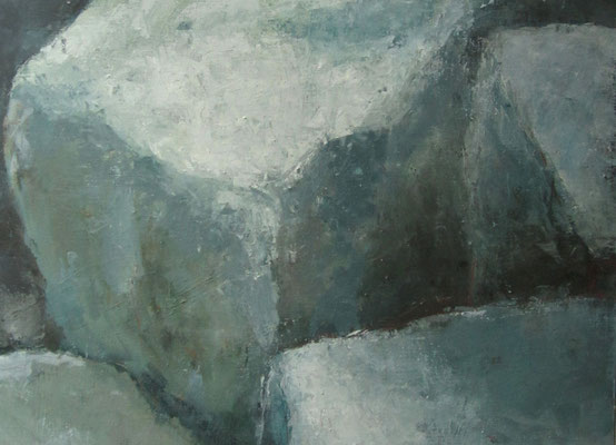 Verdichting - 2018 - 100 x 155cm - oil on canvas