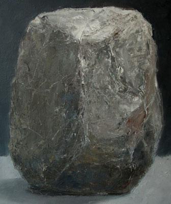 Zwarte steen - 2012 - 40 x 50cm - oil on canvas