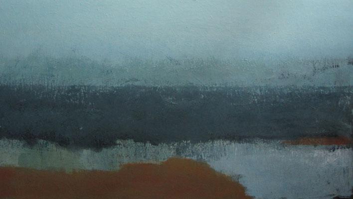 Land, lucht en water - 2010 - 100 x 170cm - oil on canvas