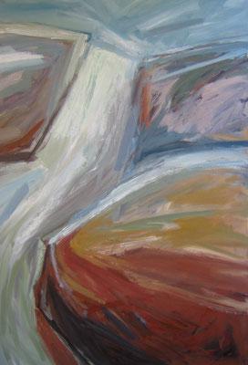 Land en water - 2007 - 110 x 155cm - oil on canvas
