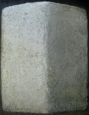 Witte steen - 2018 - 70 x 90cm - oil on canvas