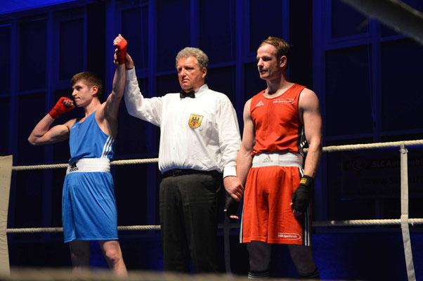 Sebastian Stinski musste sich am Ende knapp geschlagen geben.