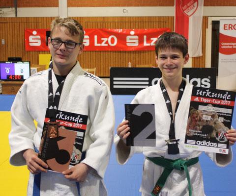 Die beiden U18 Kämpfer – Gardt und Staats.
