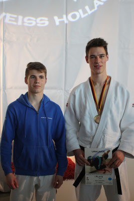 Koschel li. als Fünfter, Griemsmann mit Bronzemedaille.
