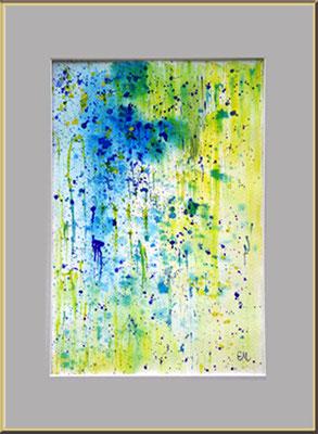 Titel: Abstrakt 3 - Apuarell 20 x 28 cm