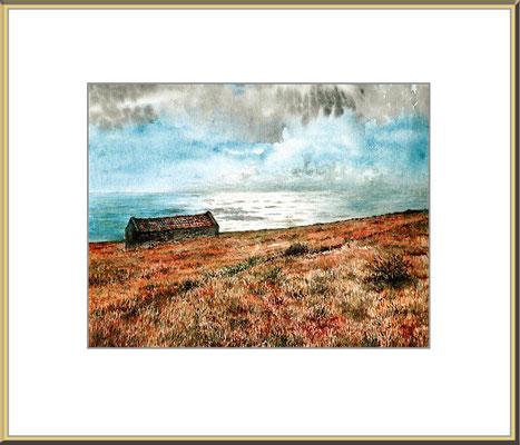 Titel: Gomera - Aquarell 25 x 18 cm