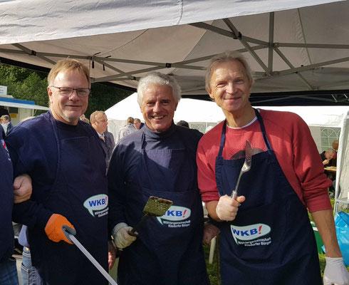 Die Drei von der Bratpfanne... Michael, Jürgen & Helmut
