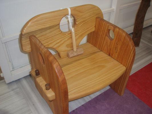 組み立て式子供椅子(トンカチ付き)