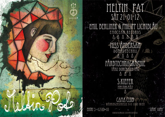 flyerdesign by visob* meltin pot * jan 2012