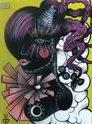 circus:cycle  297 x 420   acryl on canvas  2011