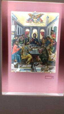 ... et dans l'église Sainte-Catherine d'Héraklion