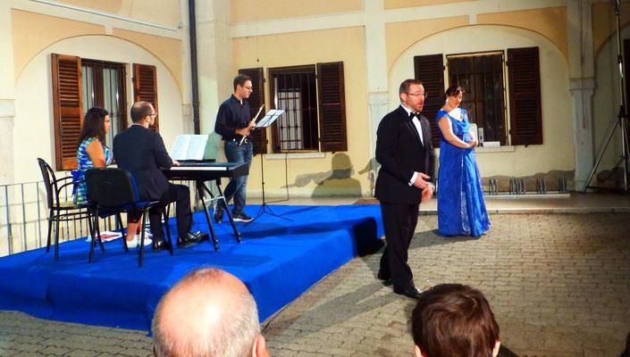 Concert au centre socio-culturel de Villanuova