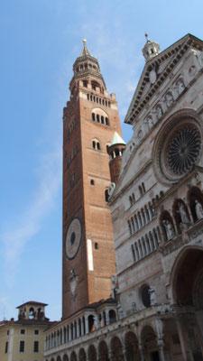 Le campanile de la cathédrale de Crémone