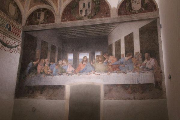 La Cène au Cenacolo Vinciano