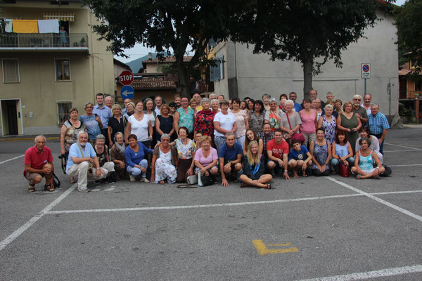 Photo de tous, Villanovésiens et Trébeurdinais