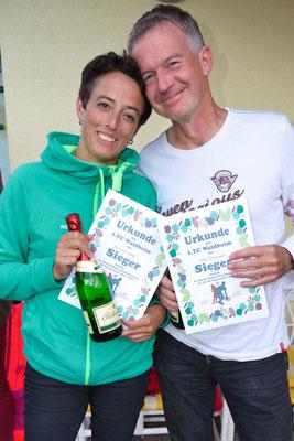Sieger Mixed Doppel Miriam Binnenbruck und Jost Kluttig