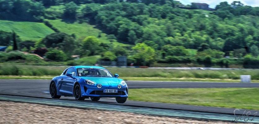 Rallye Occitanie-Terres du Sud 2019, lors de notre roulage sur le circuit d'Albi