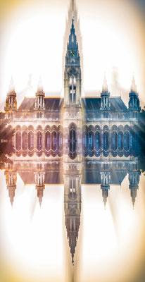 Gespiegeltes Rathaus