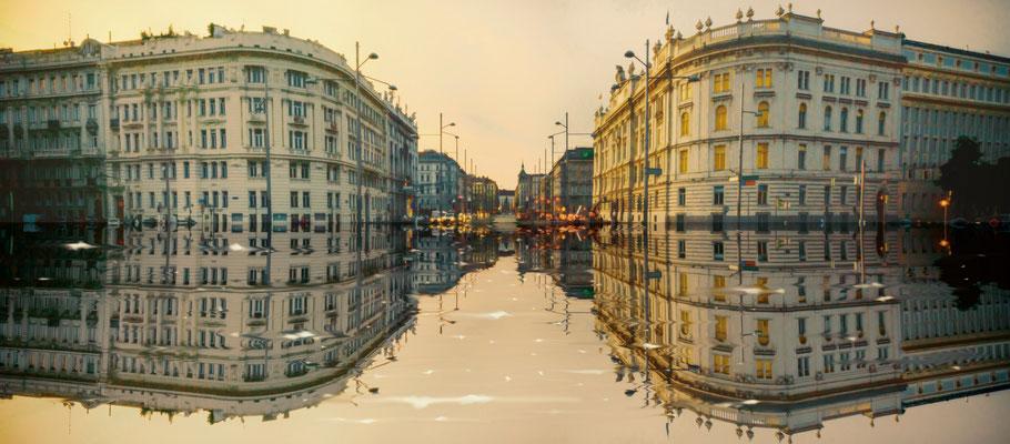 Schwarzenbergplatz im Venedig Stil