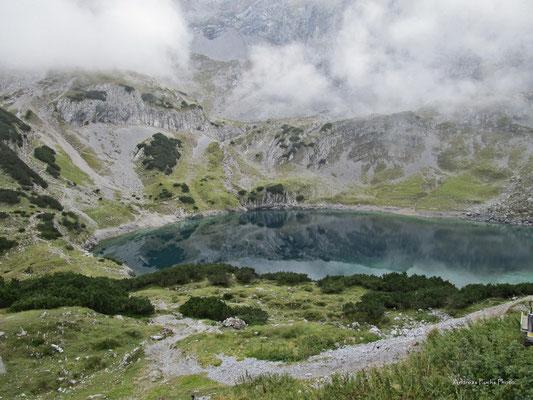 Drachensee von der Coburger Hütte aus gesehen.