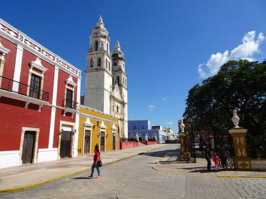 Campeche ist eine erfrischend ruhige Stadt