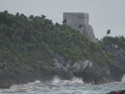 Die Maya-Stätte von Tulum ist die einzige, die am Meer gelegen ist