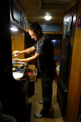 Ab und an gibt es auch mal was aus der eigenen Küche
