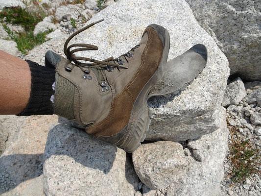 Schuh am Mittag