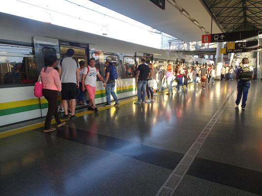 Metrostation in Medellin