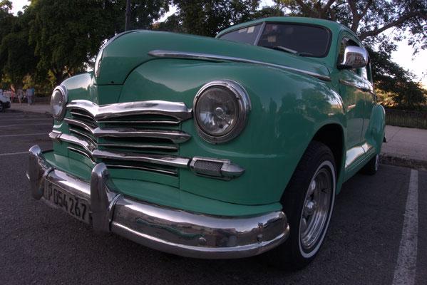 Die Oldtimer sind meist auf Dieselmotoren umgerüstet und haben alle Alufelgen und Scheibenbremsen