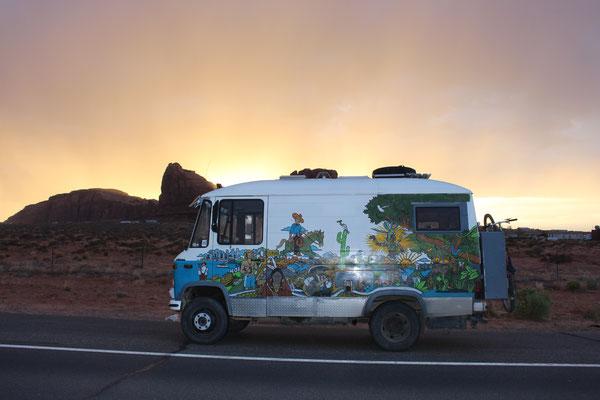 Das Ende vom Regen im Monument Valley