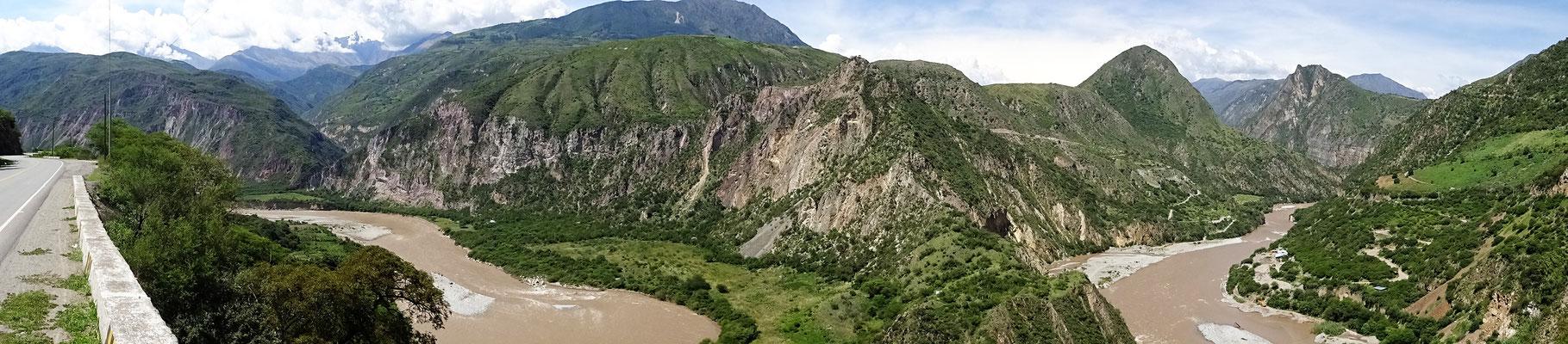 Wie der Horseshoe-Bend am Grand Canyon - nur keine Touristen oder Aussichtsplattformen