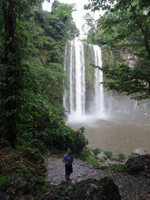 Wasserfall Misol-Ha bei Aguas Azules