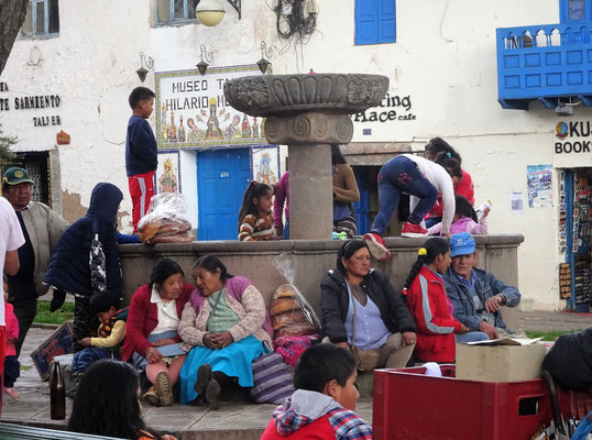 Feierstimmung in Cusco