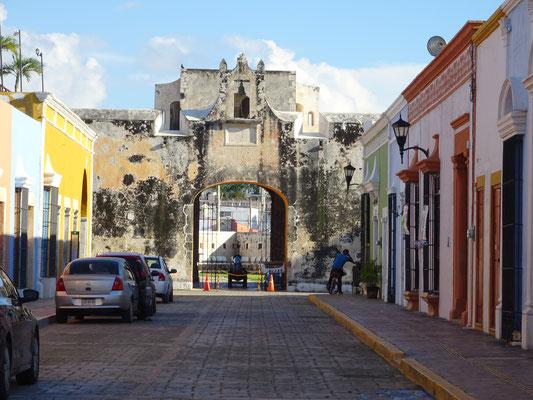 Stadttor in Campeche