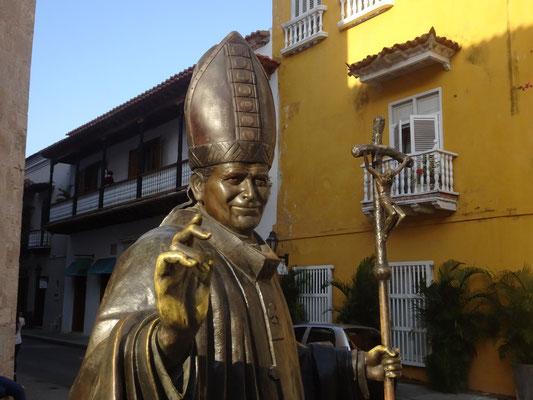 """Westernhagen würde sagen: """"Und der Papst war auch schon da"""" (aus: """"Freiheit"""")"""