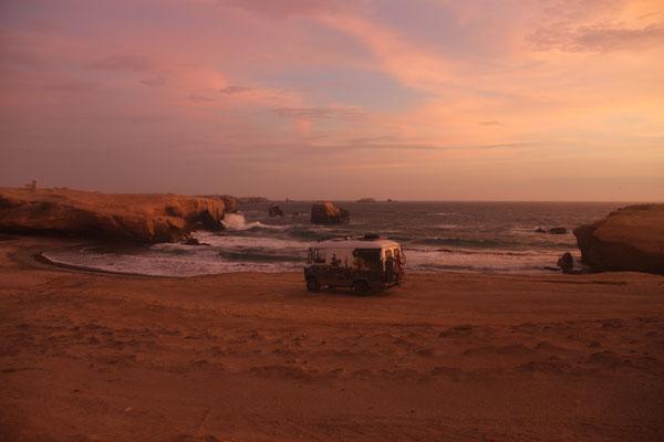 Traumhafter Übernachtungsplatz am Meer