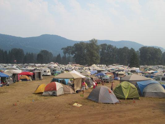 Campingplatz für Besucher