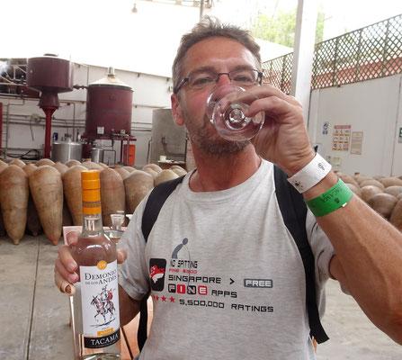 Zur Not trinke ich auch mal Weißwein - Weinprobe in der ältesten Weingegend Südamerikas