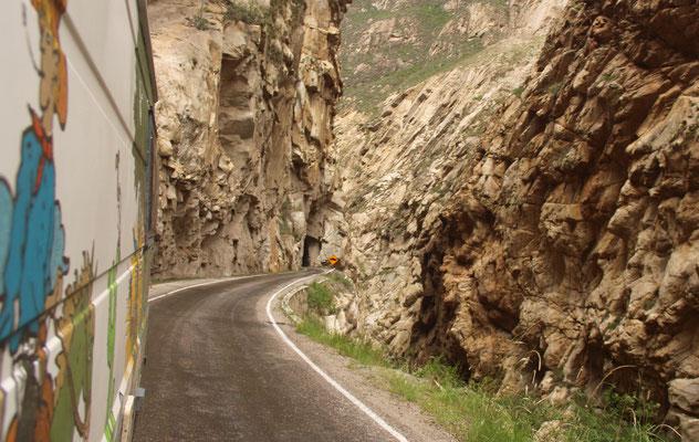 Im Canyon de Pato