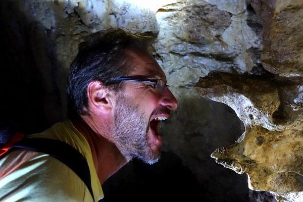"""Höhleformationen bei """"Aqua Caliente"""""""