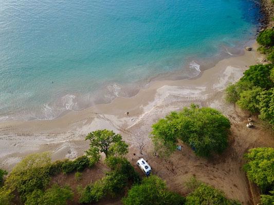 Unser Stellplatz am Meer (Bildrechte: National Security Acency)