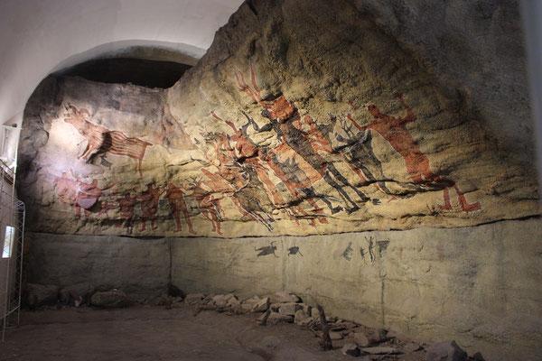 Höhlenmalerei in San Ignazio