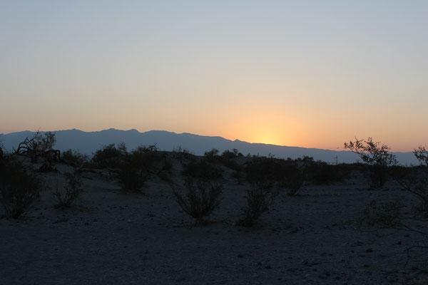 Sonnenaufgang über der Wüste 1
