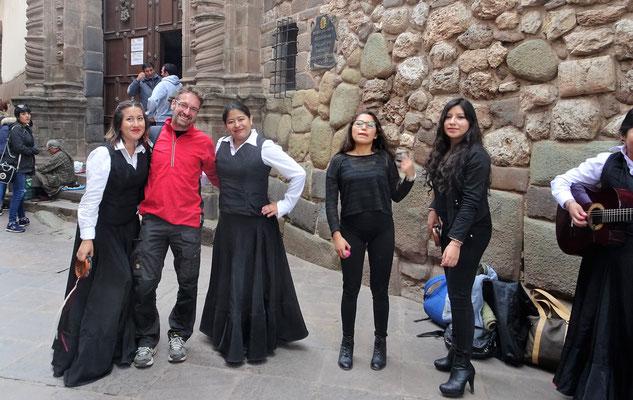 Meine Tanzgruppe und ich