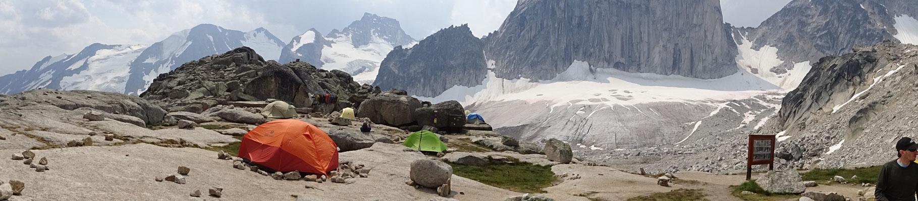 Zeltplatz mit Aussicht und Frischegarantie