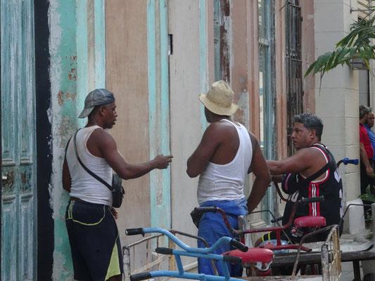 Kubaner diskutieren gerne