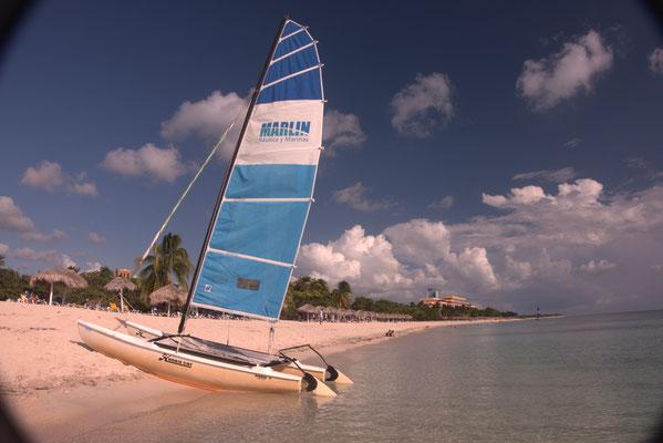 Natürlich gibt es auch Strand auf Kuba